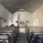 The original interior of the church 1925