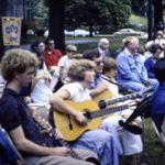 1978 Outside Worship and Parish Picnic