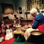 Jenny Floch, Parishioner and Potter, Rev. Susan Smith